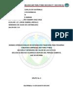 1. Trabajo Escrito Niif Para Pymes 27 y Niif 32