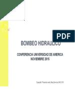 Conferencia de Bombeo Hidráulico Universidad de América