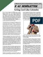 Acting Cool Like Colombo