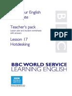Conversational English Uptodate Hotdesking Plan