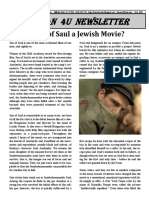 Is Son of Saul a Jewish Movie?