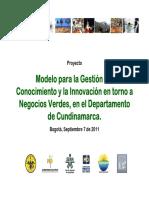 3. Proyecto Negocios Verdes Cundinamarca Sept7
