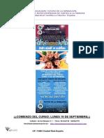 TEATRO DE LA SENSACIÓN Taller Anual Teatro Infantil en Castellano de 3 a 12 Años 2016-017 Con Ficha de Inscripción