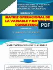 Sesion 7 Matriz Operacional de La Variable y Matriz de Consistencia (1)