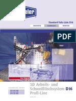 PROFILINE D16-4.0-German