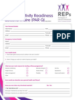 REPs Members Lifestyle Questionnaire 2014 Long