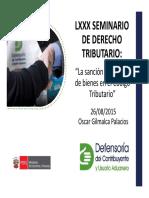 LXXX Dcho Tributario Present