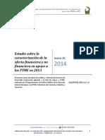 Estudio Oferta Financiera Pymes