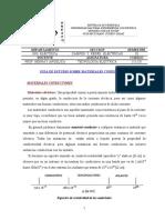 Guia de Estudio Teorica de Materiales Conductores
