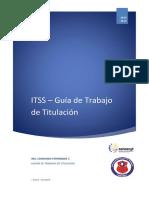 Guia de Trabajo de Titulacion 2014-2015