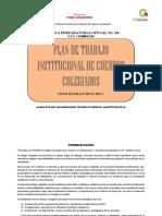 Plan de Trabajo Institucional de Cuerpos Colegiados Epo 131