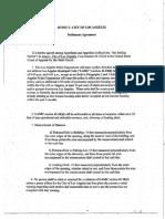 Jones Settlement Agreement