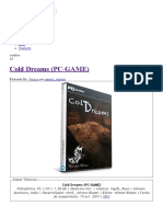 Cold Dreams (PC-GAME) - IntercambiosVirtuales