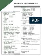 92343761 Format Pengkajian Asuhan Keperawatan Pasien Rawat Inap