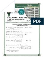 Practica 2. Brayan Bascope Calculo II