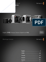 Blackmagic Camera Manual February 2014