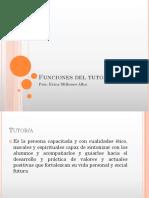 Funciones y Areas Del Tutor