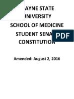 wsusom student senate constitution 2016 08 02