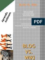 Blog vs Wiki
