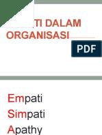 Empati (Edit)Dalam Pengurusan Organisasi New