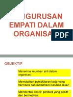 EMPATI DALAM PENGURUSAN ORGANISASI SMI 2_2016.ppt