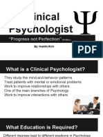 clinical psychologist by kaetlin rich