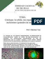 Clase Citologia Celula
