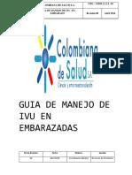 Infeccion Urinaria en El Embarazo GUIA de REFERENCIA CDS 2014