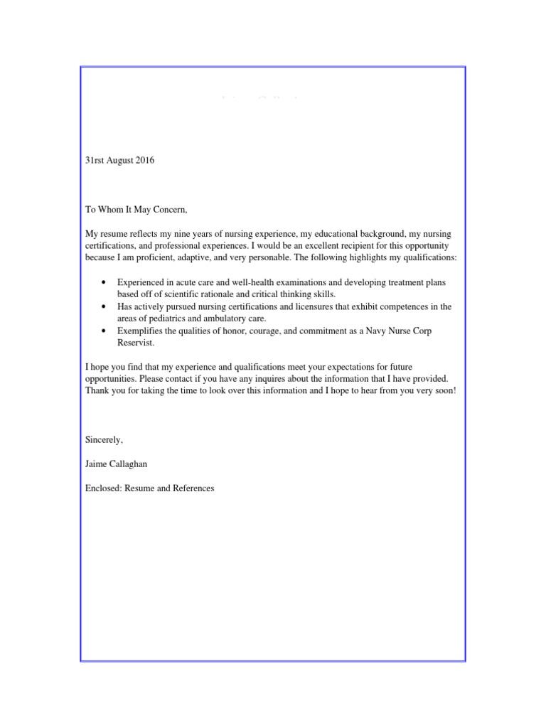 Jaime Callaghan Resume Copy Nurse Practitioner Family Medicine