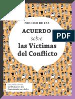 Proceso Paz Colombia Cartilla Acuerdo Victimas