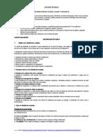 DISTRIBUCI+ôN DE PLANTA - PLANO Y MAQUETA