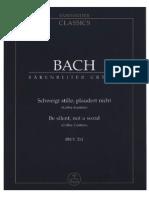 Cantata Do Café BWV 211