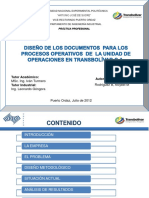 22.Diseno Documentos Procesos Operativos Unidad Operaciones Transbolivar