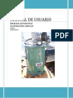 Manual Flowmaster Con Presostato