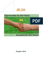 FY2014 Budget in Brief