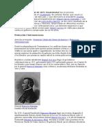 La Revolución Liberal de 1876