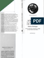 Heidegger Martin Holderlin y La Esencia de La Poesia