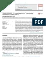 Seleksi Sampel Untuk Analisis Nilai Ekstrim Pengumpulan Pemeriksaan Data Dari Permukaan Korosi