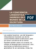 La Conciencia Lingüística-filminas