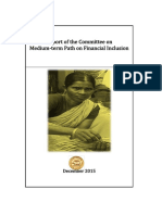 Committee Report on Financial Inclusion Dec 2015