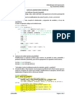 Guía de Laboratorio Sesión 02 - Introducción a la POO