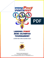 Larong Pinoy Mini-Olympics Company Sports Fest