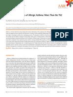 Immunopathogenesis of Allergic Asthma More Than the Th2