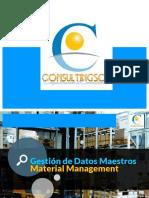 Datos Maestros MM