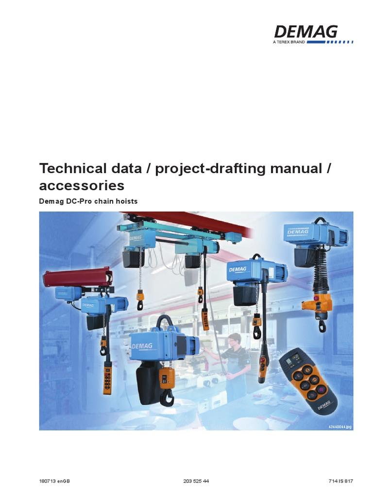 demag dc pro4 pdf transmission (mechanics) power inverter