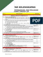 Daftar Periksa Kelengkapan Lsp Menuju Lisensi - 2015