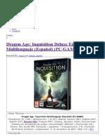 Dragon Age_ Inquisition Deluxe Edition Multilenguaje (Español) (PC-GAME) - IntercambiosVirtuales