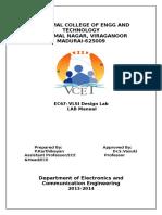 VLSI Design Lab Manual