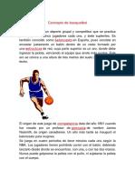Concepto de Basquetbol