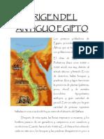 Origen Del Antiguo Egipto